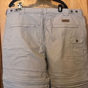 Cabela's 2 in 1 outdoor pants II convertible hiker